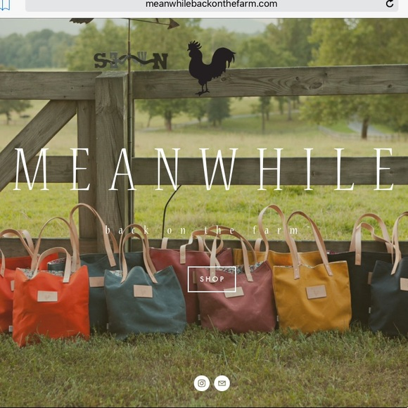 a5d3dc7d43e Meanwhile Back On The Farm camouflage tote bag